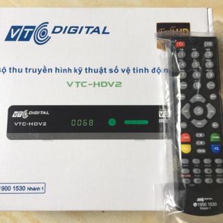 Điều khiển đầu Vtc hdv2-remote Vtchdv2 zin thumbnail