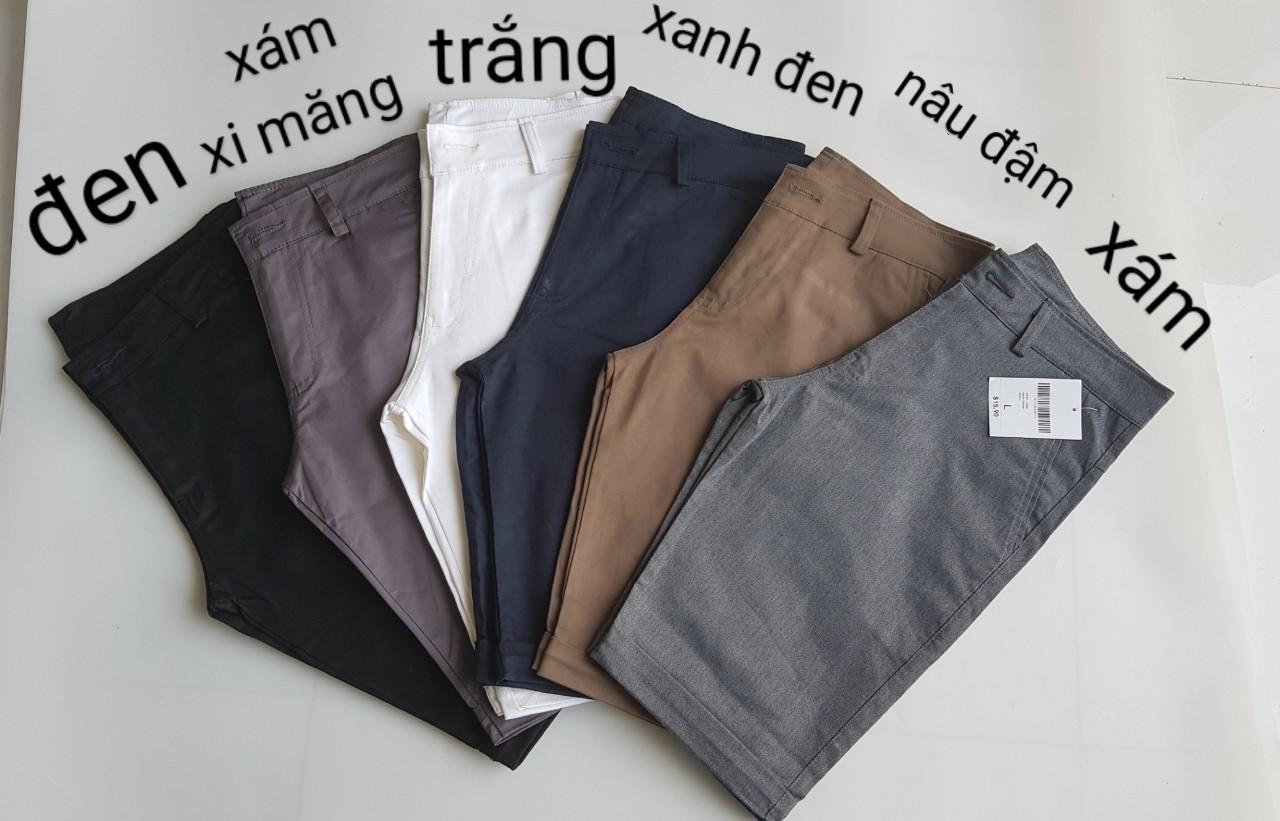 Quần Short Kaki Nam Co Dãn By Gấu.store.