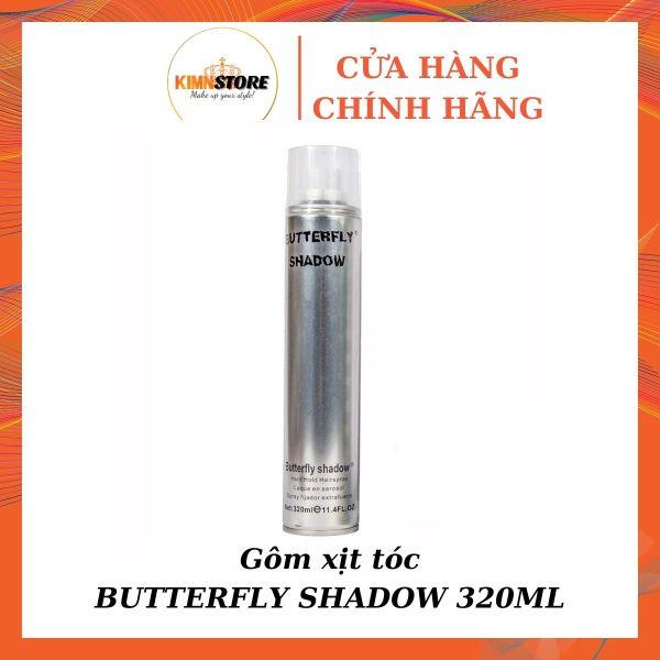 Gôm xịt tóc Butterfly Shadow 320ml - Keo xịt tóc nam nữ nhập khẩu