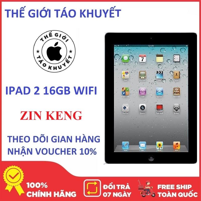Máy tính bảng IPAD 2 - 16GB ZIN KENG - Phiên bản WIFI & 3G - Giá rẻ - Thế Giới Táo Khuyết