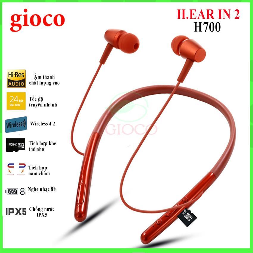 Tai nghe BLUETOOTH H.ear In 2 WI-H700 nghe nhạc CẢ NGÀY, tai nghe bluetooth không dây pin trâu bass mạnh hỗ trợ thẻ nhớ (thay thế tai nghe bluetooth Q32, i7s,A10,B11)-[gioco]]