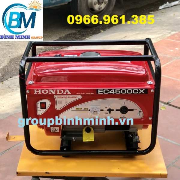 Máy Phát Điện Honda Chạy Xăng 3kw EC4500CX