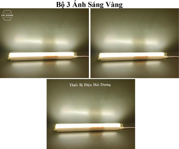 Bộ 3 Đèn Tuýp Led Liền Máng Rạng Đông BD LT03 T5 N02 30cm 4w Chip Led Sam Sung - Bảo Hành 24 Tháng