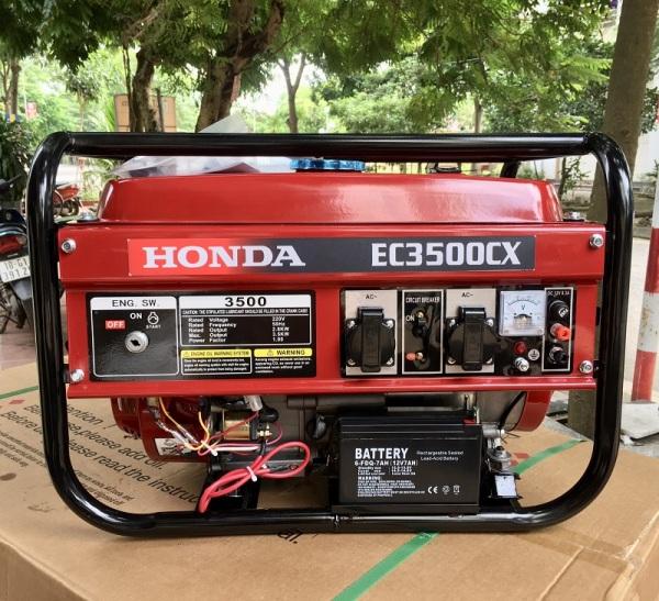 [Trả góp 0%]Máy Phát Điện Honda Chạy Xăng 3.5kw EC3500CX Đề