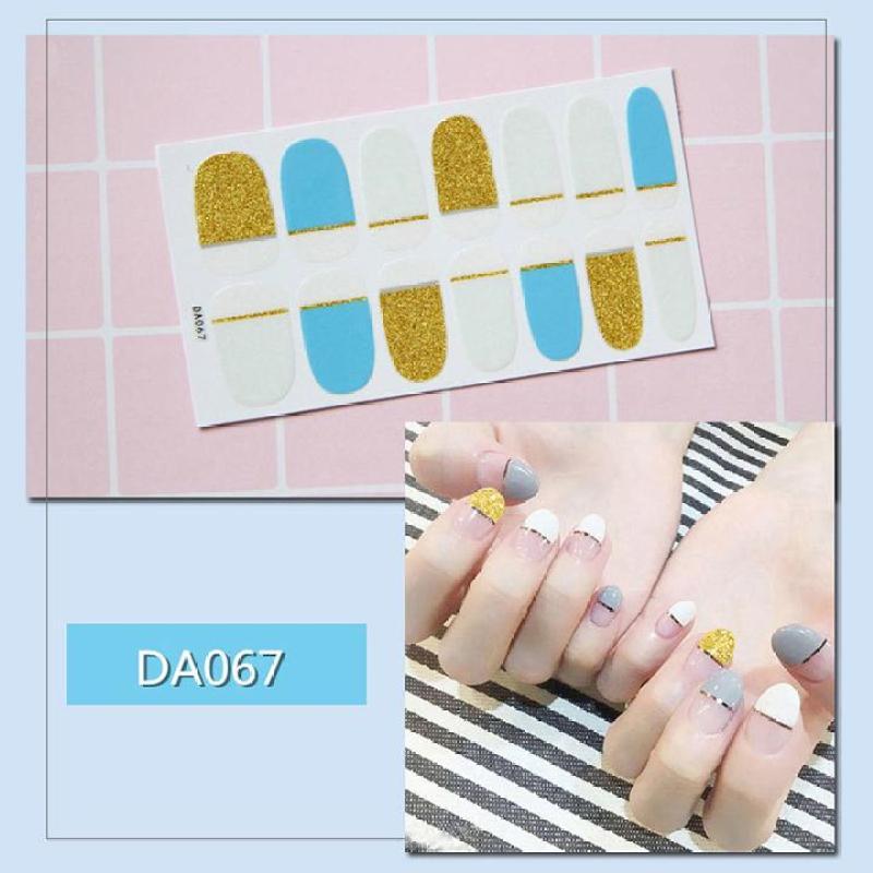 Miếng dán trang trí móng tay nghệ thuật mã DA061 - DA080