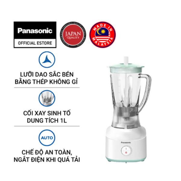 Máy Xay Sinh Tố Panasonic MX-M100GRA - Công suất 260W mạnh mẽ, tiết kiệm điện - Cối 1L nhựa cao cấp - Bảo Hành 12 Tháng - Hàng Chính Hãng