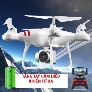 BỘ ĐỦ CAMERA -Máy bay flycam KY101 máy ảnh camera 2.0Mpa. HD 720P truyền trực tiếp về điện thoại, Có chế độ tự về bằng 1 nút bấm trên tay điều khiển. Máy bay chụp ảnh, Flycam giá rẻ