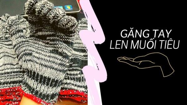 Giá bán Combo 10 đôi găng tay bảo hộ sợi len màu xám hoặc kem