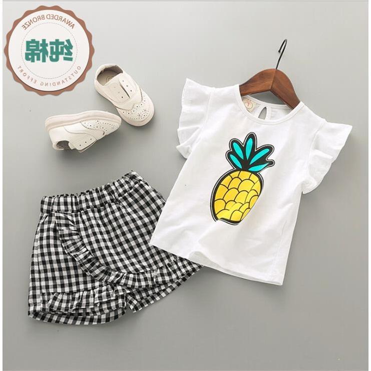 Giá bán [Sale] Bộ thời trang áo + quần giả chân váy dành cho bé