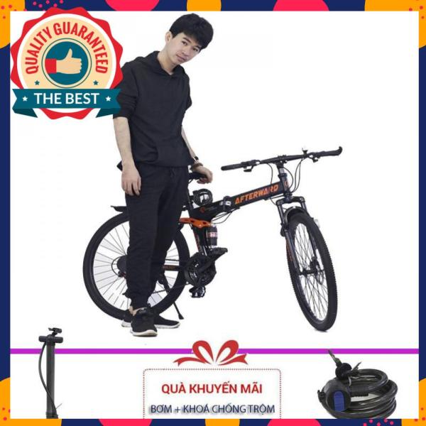 Phân phối Xe đạp gấp địa hình AfterWard MK94 + Tặng bơm và khóa chống trộm