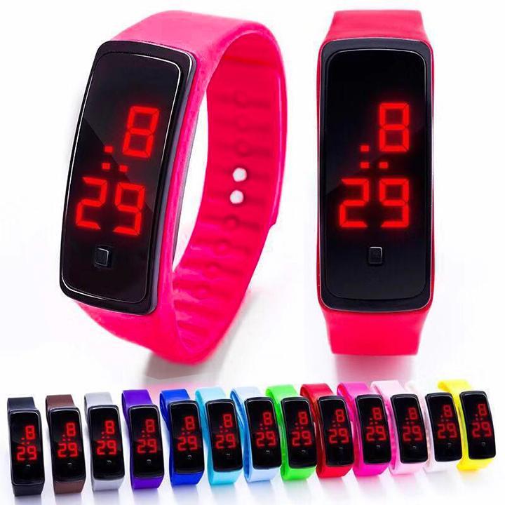Đồng hồ thể thao Xiaoomi LED Unisex hàng chuẩn cực chất thời trang trẻ trung sành điệu (ĐỎ) bán chạy