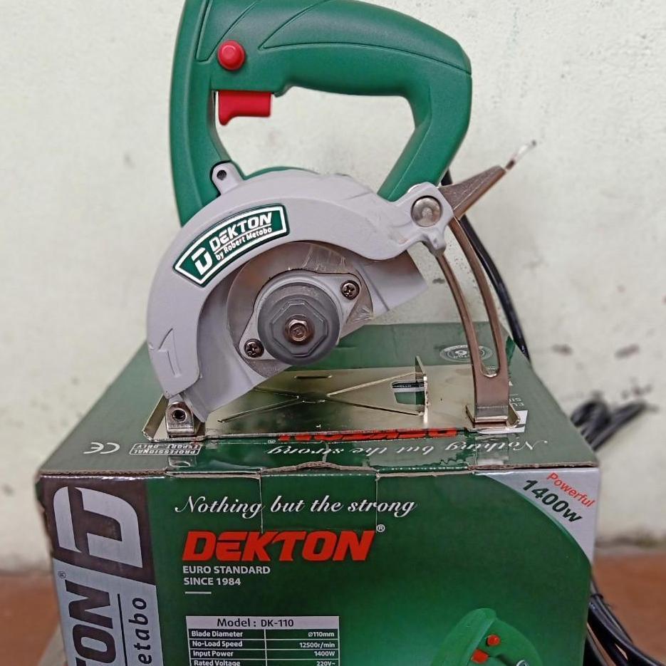 Máy cắt gach  DEKTON DK110