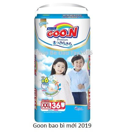 Coupon Giảm Giá Tã Quần Goon Slim XXL36 Miếng 15 - 25kg (CẮT TEM)