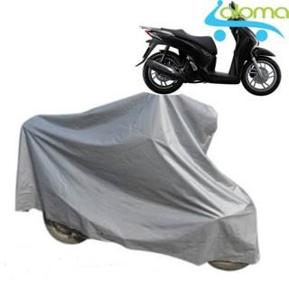Bạt phủ xe máy 2.5m vải kết hợp nilon AL-2M (loại tốt) thumbnail