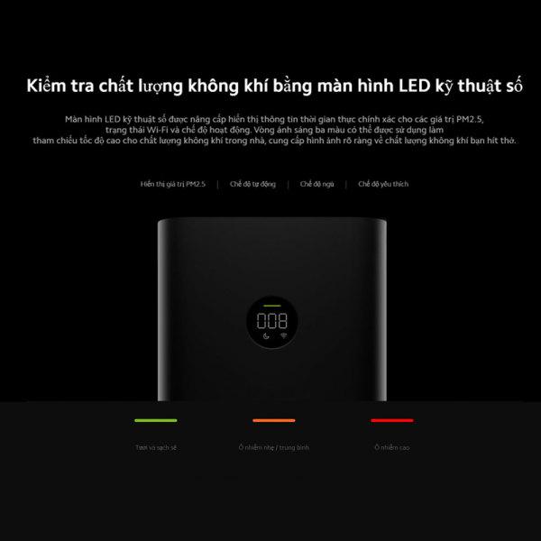 Máy lọc không khí Xiaomi Mi Purifier 3C EU BHR4518GL - Hàng phân phối chính hãng