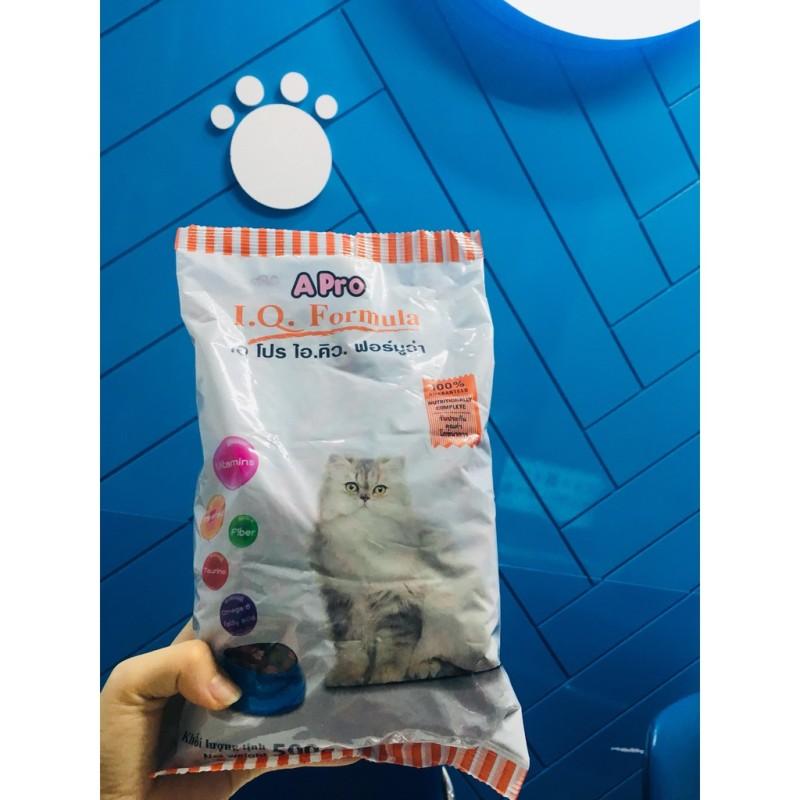 Thức ăn hạt cho Mèo APRO IQ Formula (Thái Lan) gói 500g