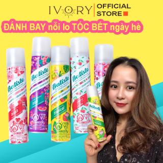 Dầu Gội Khô Batiste Dry Shampoo 200ml Hết Ngứa, Hết Bết Dính Tóc Thơm Mượt Bồng Bềnh Tức Thì - IVORY BEAUTY thumbnail