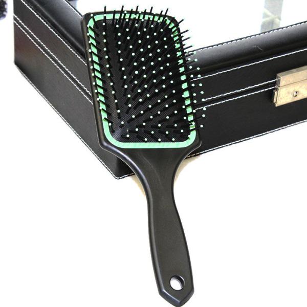 Lược chải đầu cho spa bản to chữ nhật gỡ rối tóc dày xoăn cho nam và nữ   Lược spa có đệm khí và dạng gai matxa massage đầu