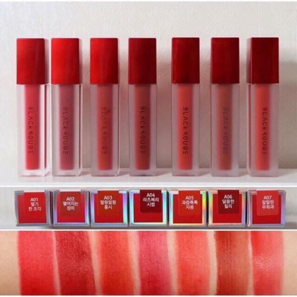 Son kem lì Black Rouge Air Fit Velvet Tint Ver 5 Night Series chất lượng đảm bảo an toàn đến sức khỏe người sử dụng cam kết hàng đúng mô tả