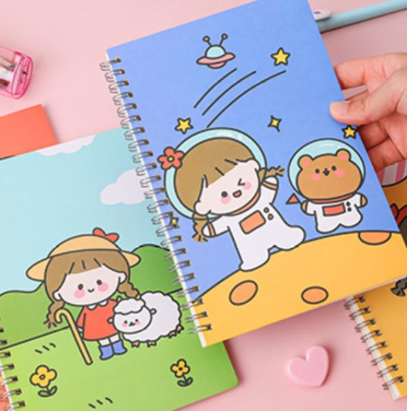 Mua Tập vở học sinh hình ciu xỉu - sổ ghi bài cỡ A5 lớn nhiều hình cho các bé chọn