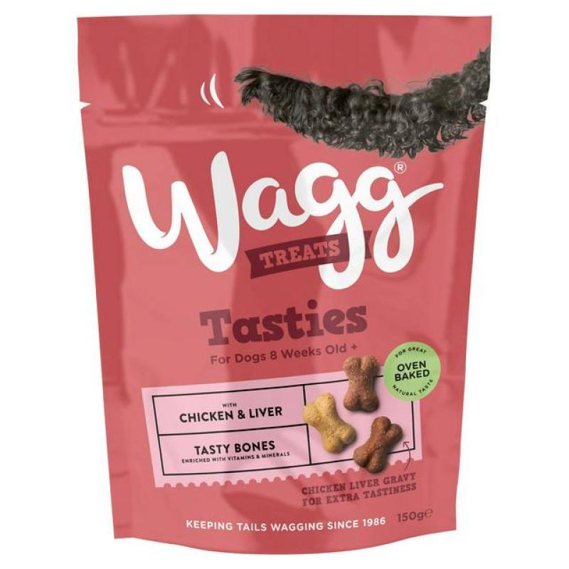 Thức ăn vặt cho chó WAGG  TASTY BONE 150g