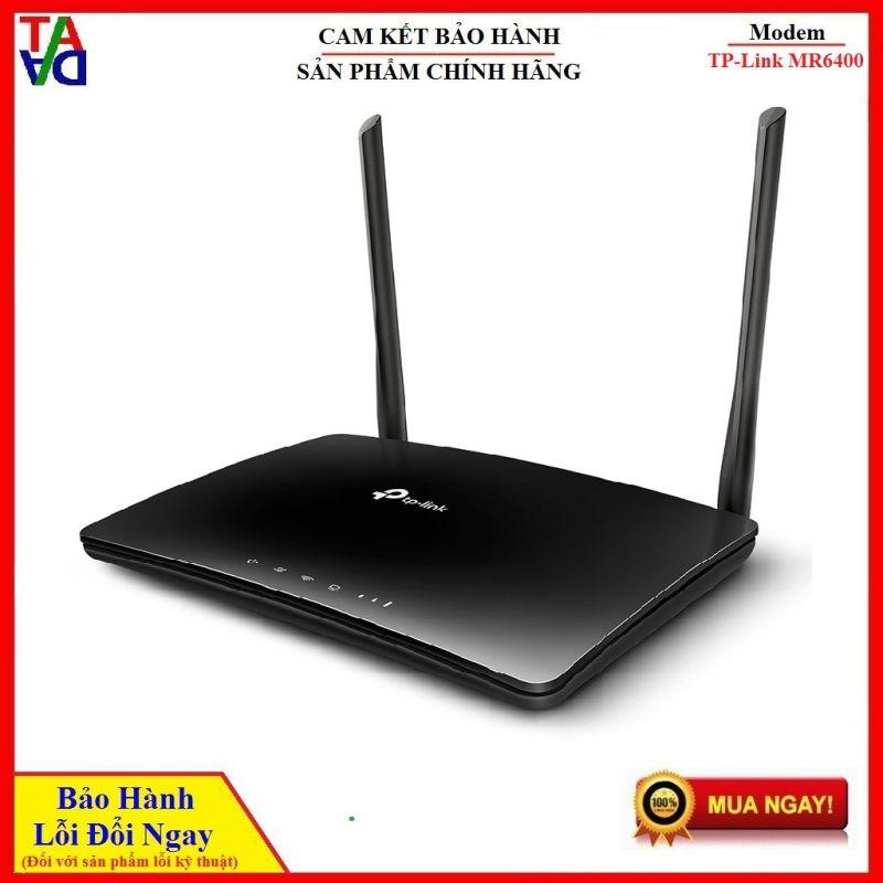 Bảng giá TP-LINK TL-MR6400 - Router Wifi dùng sim 3G 4G- Hàng chính hãng bảo hành 24 tháng 1 đổi 1 Phong Vũ