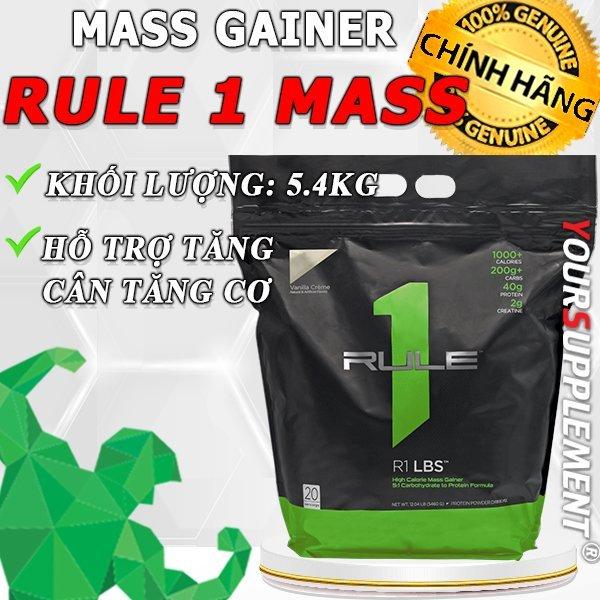 Sữa Tăng Cân Rule 1 LBS - 5,4kg [TẶNG BÌNH LẮC]