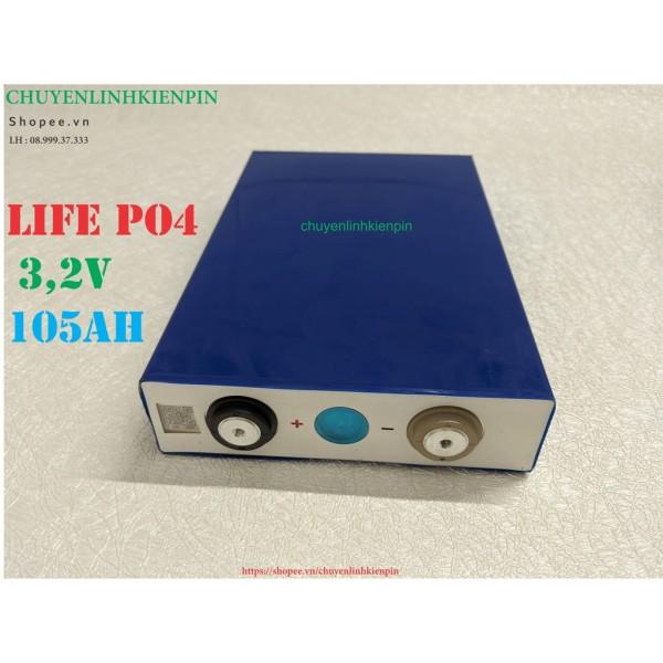 Giá Pin Lithium LiFePo 4 3,2v 105ah (BL64)