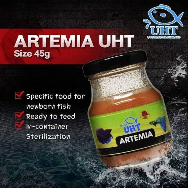 Artemia UHT Thanh Trùng Loại 75gam  | Thức Ăn Bổ Dưỡng Cho Cá Cảnh