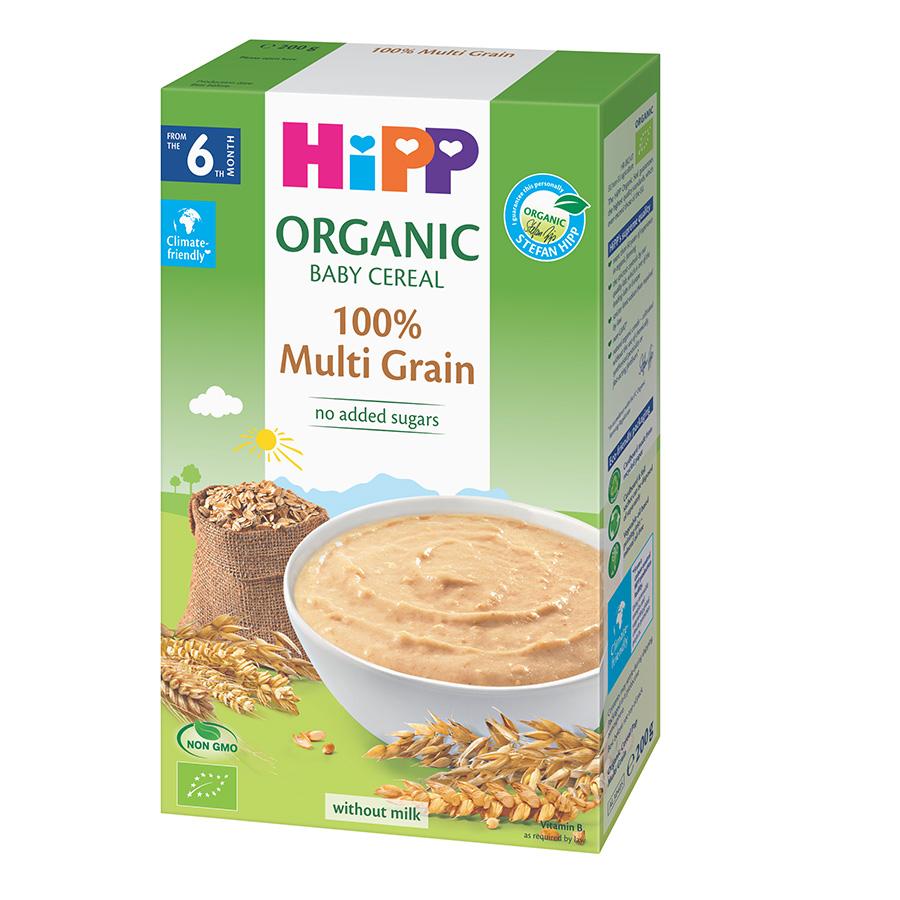 Bột ngũ cốc tổng hợp HiPP Organic 200g