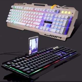 Bàn phím chơi game đổi màu G700 Led giả cơ siêu đẹp - Hàng nhập khẩu thumbnail