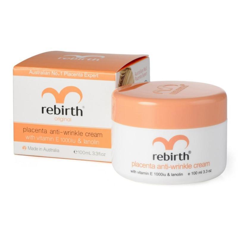 Kem Dưỡng Nhau Thai Cừu Rebirth Placenta Anti-Wrinkle Cream Úc 100ml cao cấp