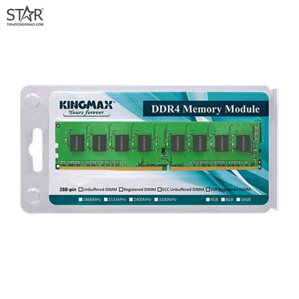 Bảng giá Ram DDR4 Kingmax 8G/2666 Không Tản Nhiệt Phong Vũ