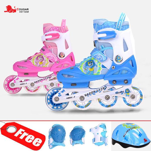 Giá bán Combo Giày trượt patin OS bánh xe phát sáng , Mũ bảo hiểm , Bảo hộ chân tay, thuộc bộ sp Mua giày trượt patin, Đồ chơi ván trượt siêu đẳng, Xe scooter cho bé, Xe scooter cho bé
