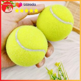 Combo 2 trái banh tennis Banh quần vợt giá rẻ Tennis banh xanh Aplusmart thumbnail