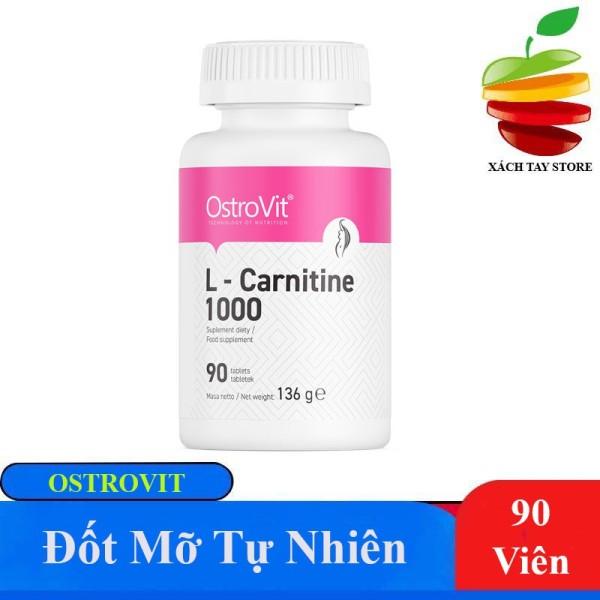 Viên Giảm Mỡ Tự Nhiên Ostrovit L Carnitine 1000mg - 90 Viên nhập khẩu