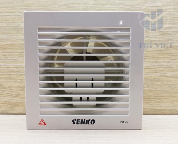 Máy hút mùi gắn tường H100 (25W) - Chính hãng Senko bảo hành 12 tháng - thông gió thoáng mát