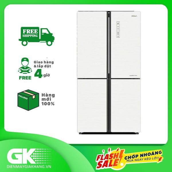 Bảng giá Tủ lạnh Aqua Inverter 516 lít AQR-IG525AM GW Điện máy Pico