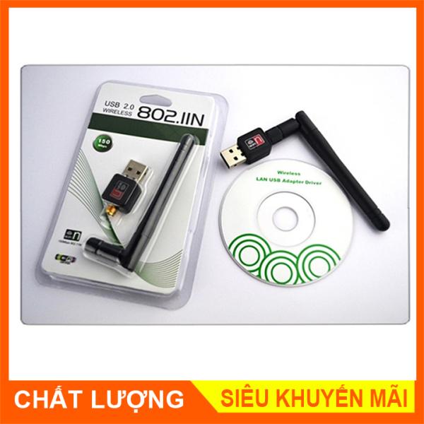 Bảng giá USB wireless 802.11n - Thiết Bị Thu Sóng Wifi Cho Máy Tính Để Bàn Phong Vũ