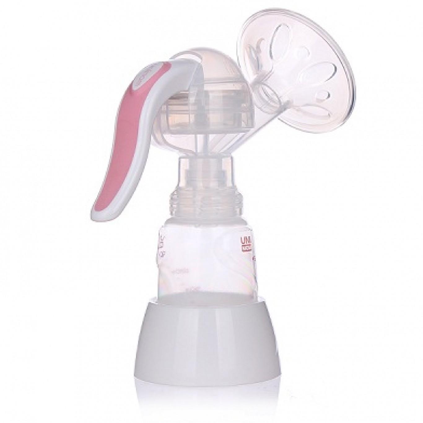 Máy hút sữa bằng tay Mezzo Unimom Hàn Quốc có matxa silicon an toàn cho bé, không có BPA -...