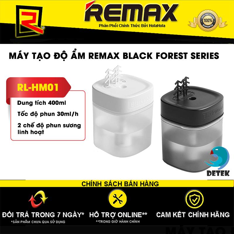 Bảng giá Máy tạo độ ẩm để bàn Remax RL-HM01 Black Forest Series