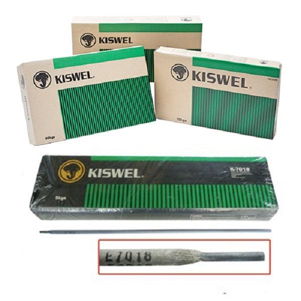 Que hàn chịu lực Kiswel K-7018 đường kính 4,0 mm