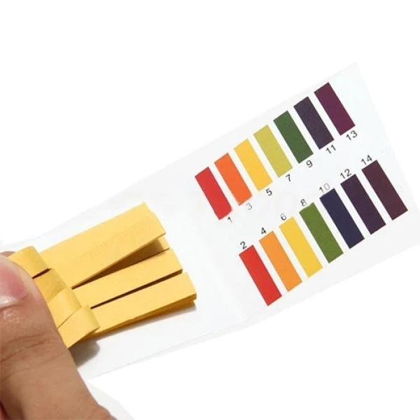 Giấy Quỳ Tím Đo Độ PH 1-14 - Giấy chỉ thị vạn năng - Giấy đo pH