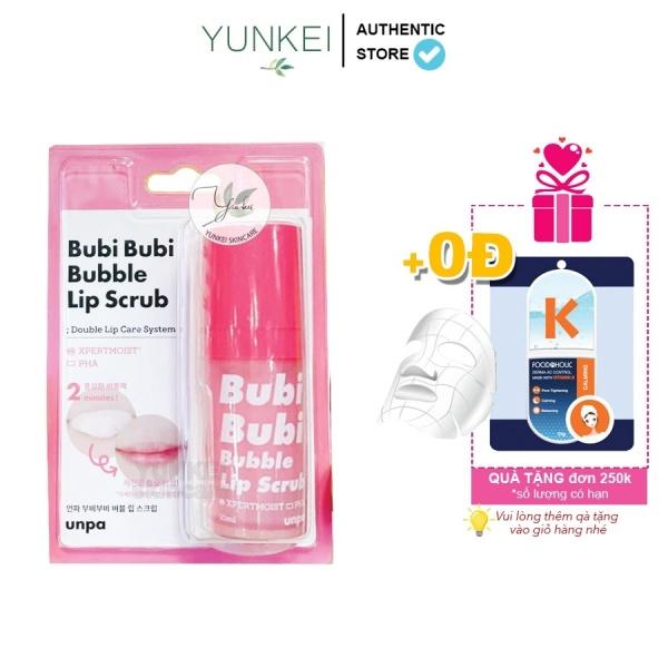 Tẩy Da Chết Môi Bubi Bubi Lip Scrub By Unpa