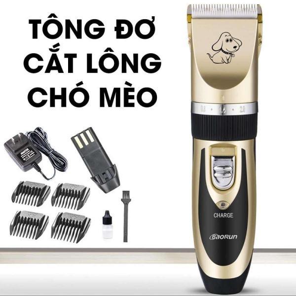 Tông Đơ Cắt Lông Chó Mèo Cao Cấp - Máy Xén, Tỉa Lông Chó Mèo Chống Nước