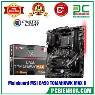 Mainboard MSI B450 TOMAHAWK MAX II ( AM4 ATX 4xDDR4 ) thumbnail