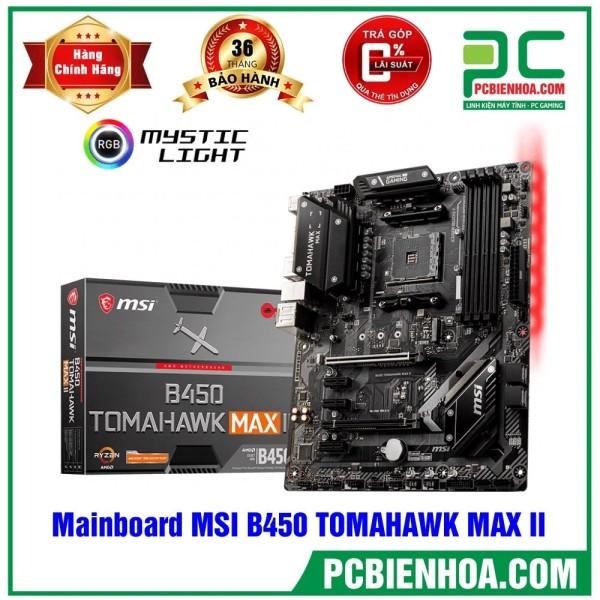 Bảng giá Mainboard MSI B450 TOMAHAWK MAX II ( AM4 / ATX / 4xDDR4 ) Phong Vũ