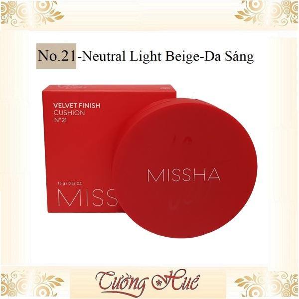 Phấn Nước Missha Velvet Finish Cushion SPF50+/PA+++ - 15g ( Lựa Chọn Màu ) giá rẻ