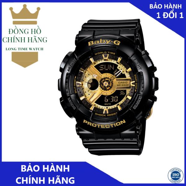 Đồng Hồ Casio Nữ BA-110-1ADR Chính Hãng