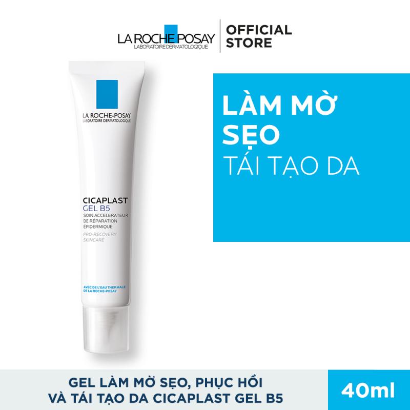 Kem dưỡng dạng gel giúp làm mờ sẹo, hỗ trợ phục hồi & tái tạo da La Roche-Posay Cicaplast Gel B5 40ml giá rẻ